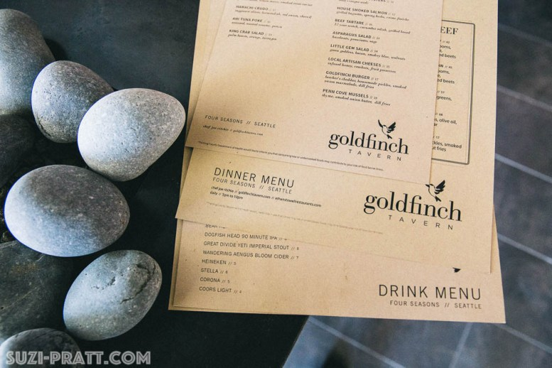 Goldfinch Tavern Seattle restaurant photography