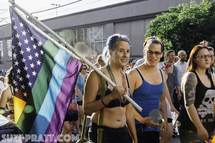 Seattle Dyke March 2015-2