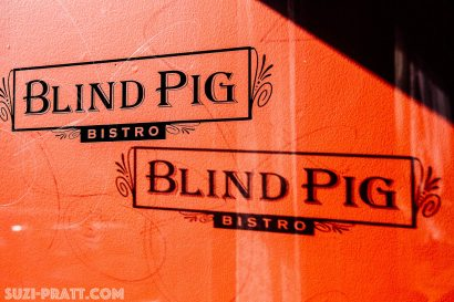 Blind Pig Bistro food photography