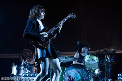Sasquatch Music Festival photography Sleater Kinney