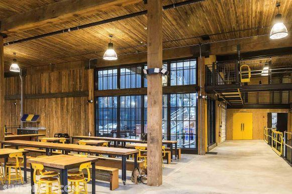 Optimism Brewing Seattle interior photographer