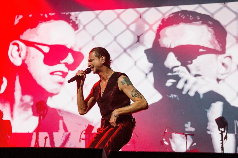 Depeche Mode Seattle concert photos