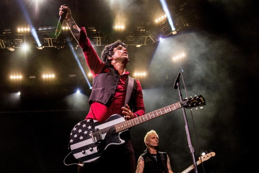 Green Day Seattle concert photos