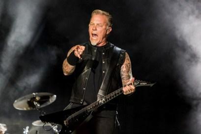 Metallica Seattle concert photographer