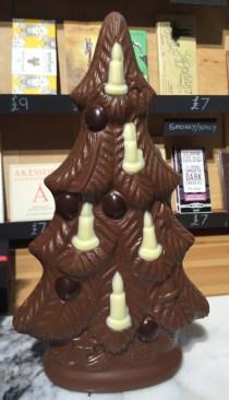 Beautiful chocolate Christmas tree