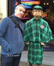 The Bloke and his new friend...