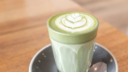 Matcha Latte - The Penny Drop Box Hill