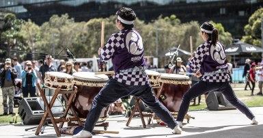 WorldRiceFestival_Taiko_Drumming