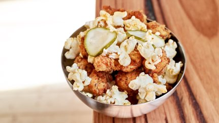 Popcorn Chicken - Slider Diner