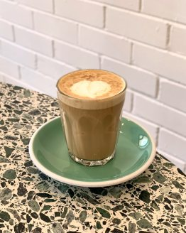 Soy Latte at Stocksville Chadstone