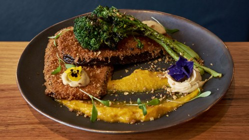 Crumbed Eggplant - Rock Sugar