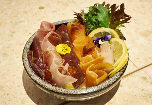Dry Aged Chirashi Don Sushi Boto - Melbourne