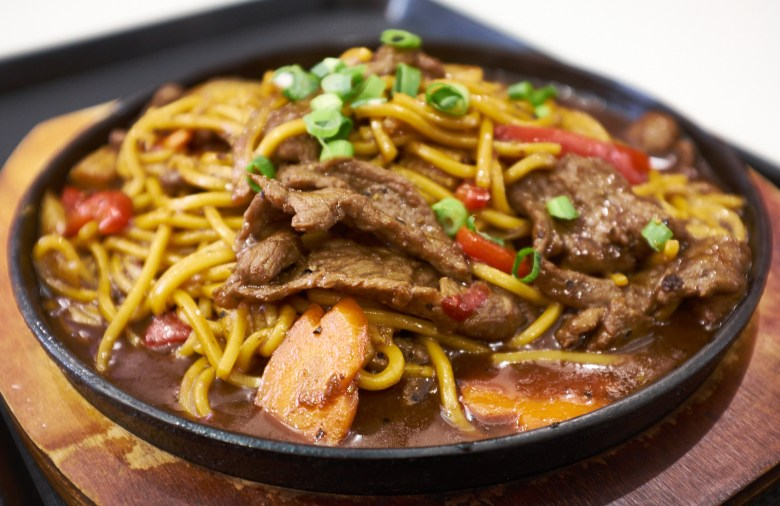 Beef and noodles - Claypot Kitchen Box Hill Central