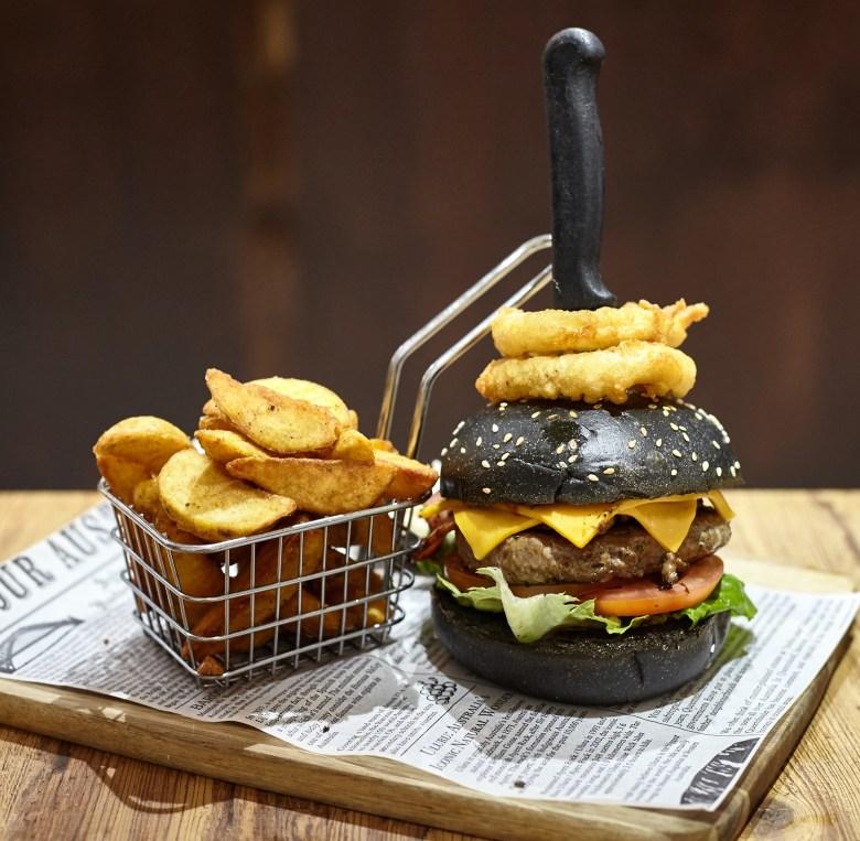 The American Dream Beef Burger - Merchants Guild