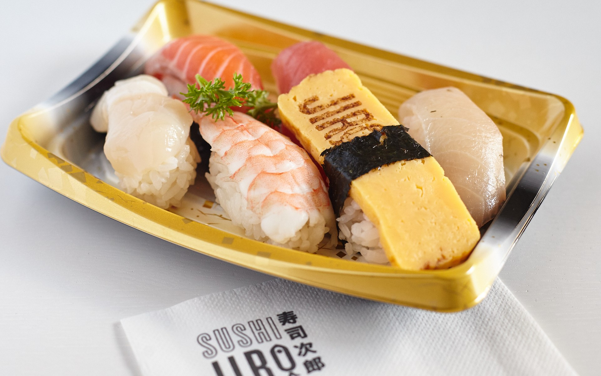 Mixed Nigiri Sushi Jiro