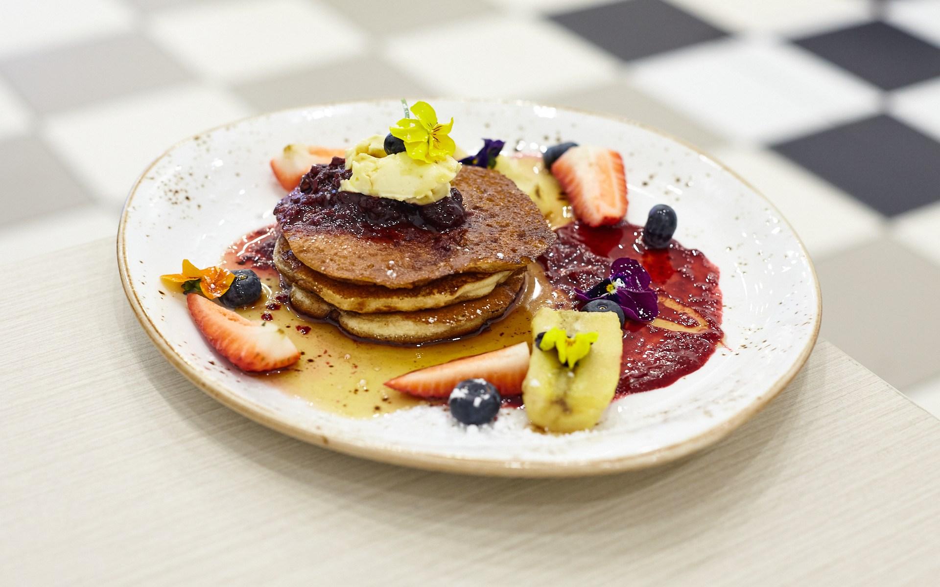 Buttermilk Pancakes - Station Grind Cafe