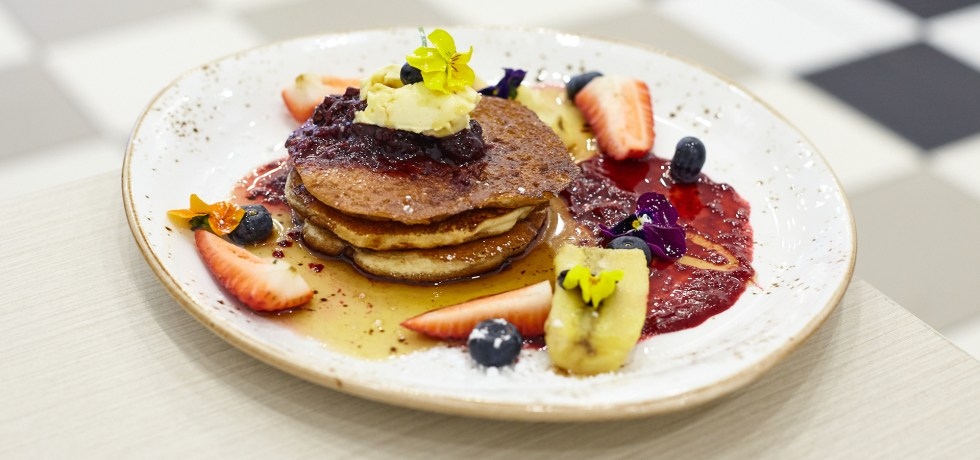 Buttermilk Pancakes - Station Grind Cafe