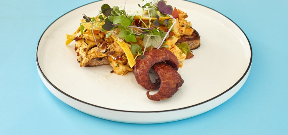 Chilli Scrambled - Good Times Milk Bar - Bentleigh