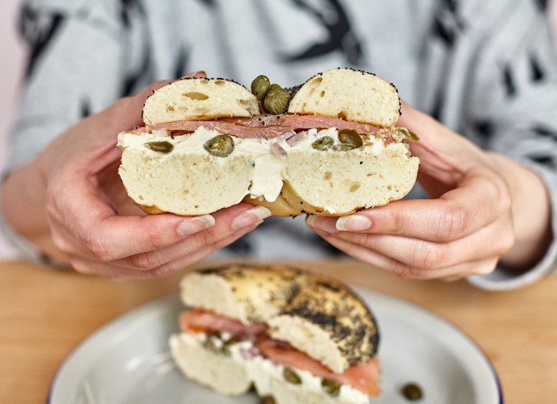 Salmon Bagel - Crooked Letters - Prahran