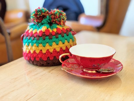 Teacup and Tea Cosy Mr Burch Cafe