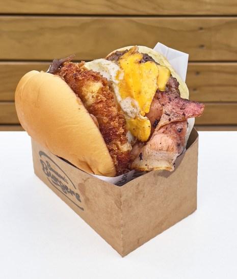 breaky beats burger Benson's Burgers