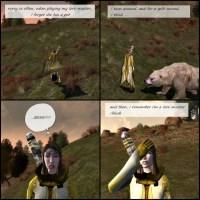 comic: lore-master doh!