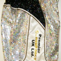Amir Khan Gold Trim Boxing Shorts
