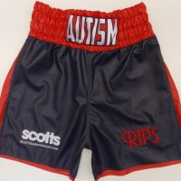 Callum Mundo Smith Leather Boxing Trunks
