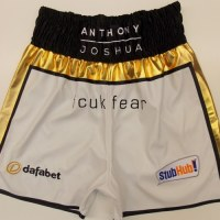 Anthony Joshua Leather Boxing Shorts