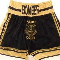 Bellew v Clev Black Velvet Boxing Shorts