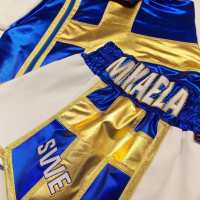 Mikaela Lauren Female Boxing Shorts - Custom Made Suzi Wong