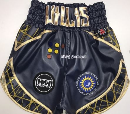 Luke Willis Leather Boxing Shorts