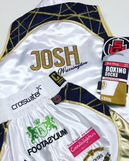 Josh Warrington Boxing Ring Wear
