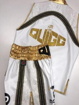 Scott Quigg Back Swarovski Ring Jacket