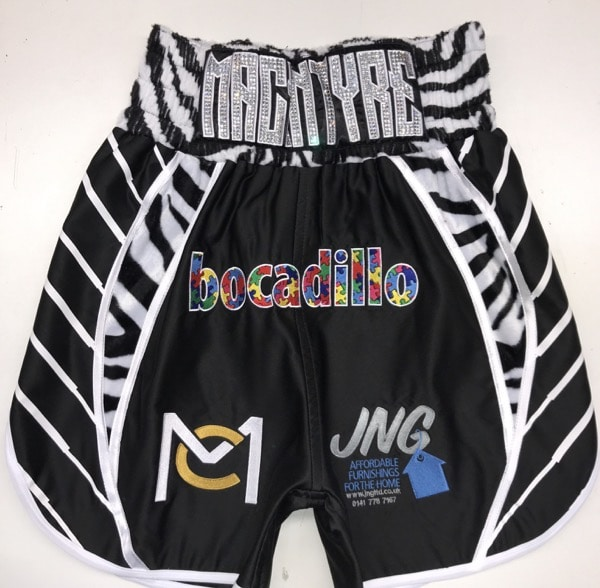Zebra Boxing Shorts