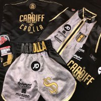 Anthony Crolla Grey Boxing Shorts vs Ramirez