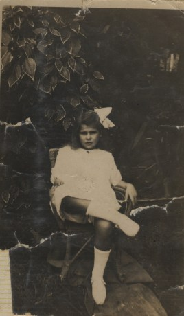 Granny as a young girl