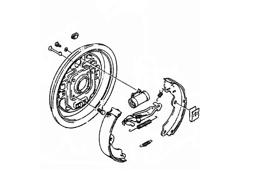 Cylinderek tylny prawy Samura / SJ śr.22.2 suzuki-częsci