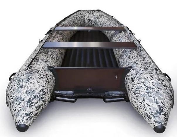 Лодка надувная Солар-380 JET (пиксель) Image