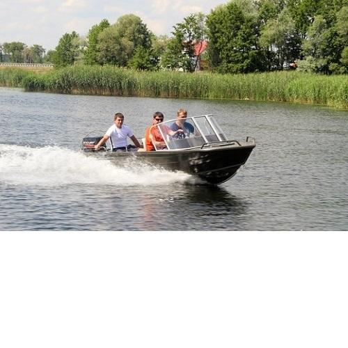 Моторная лодка QUINTREX 420 Top Ender S (со стеклом) Image