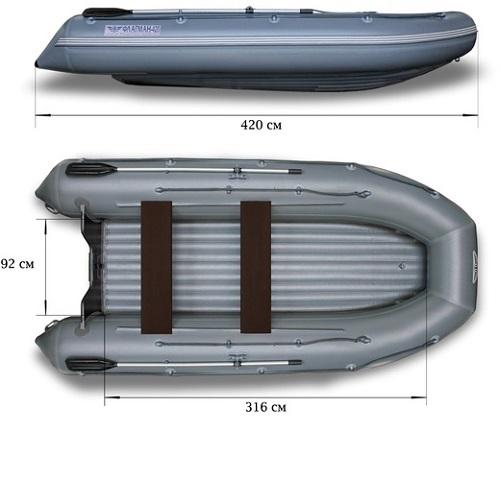 Лодка надувная ФЛАГМАН 420 Image