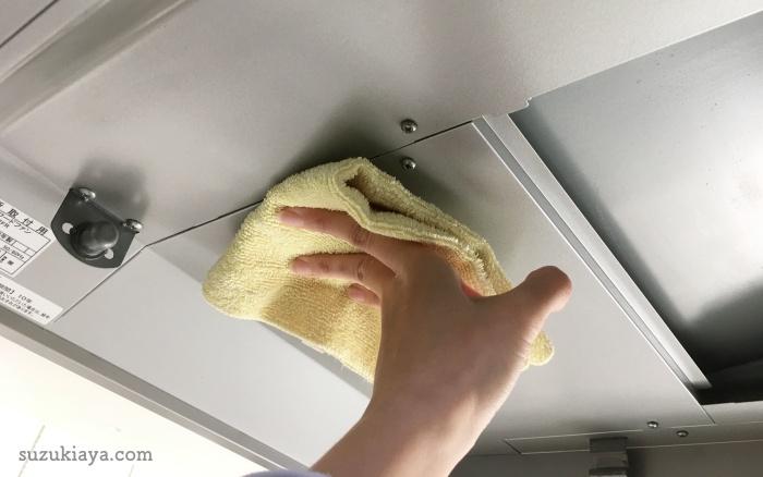 セスキとマイクロファイバー布巾で簡単に油汚れは落ちる