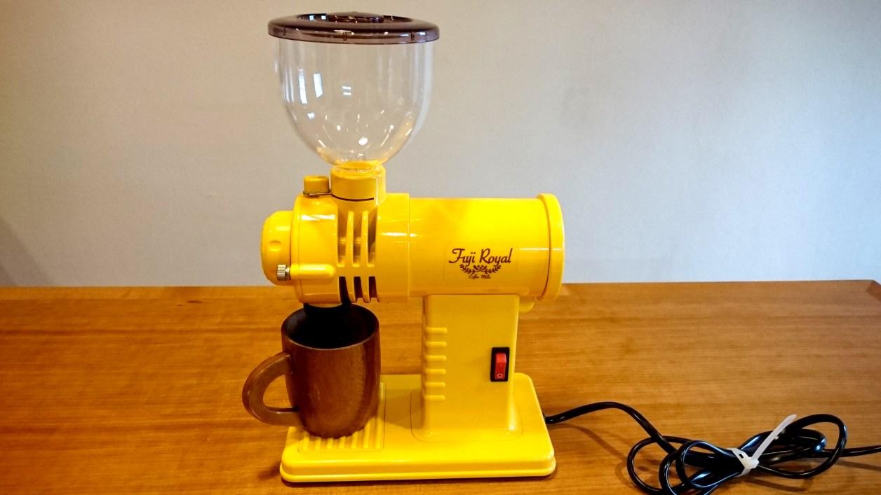 私のコーヒーミル、みるっこの画像