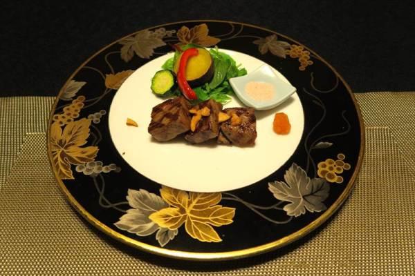 仙台黒毛和牛 添え野菜