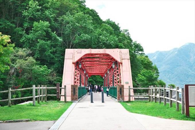 支笏湖 山線鉄橋