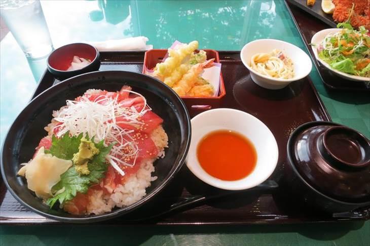 富士山の見えるレストラン