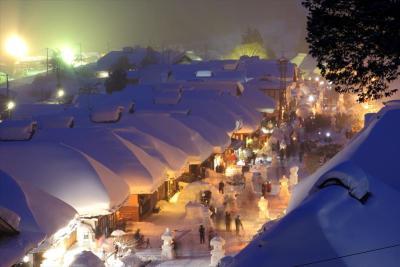 大内宿 雪まつり