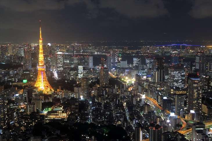 六本木ヒルズ 東京シティービュー