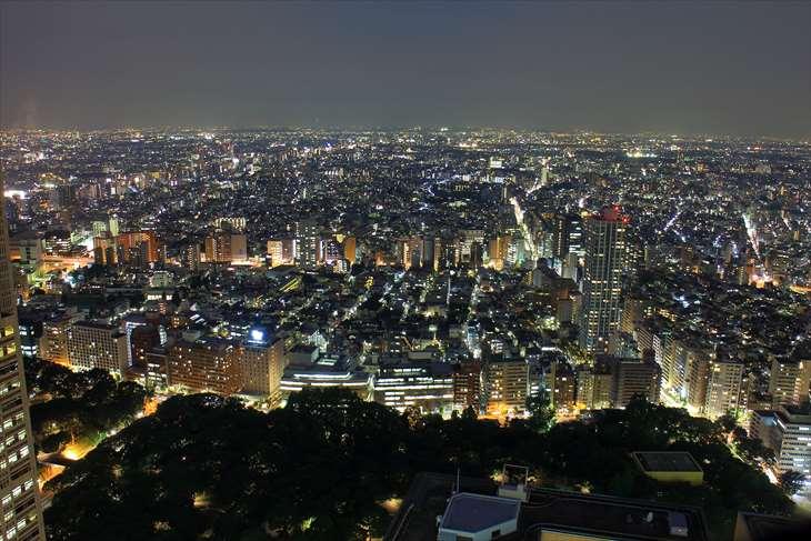 新宿住友ビルからの夜景