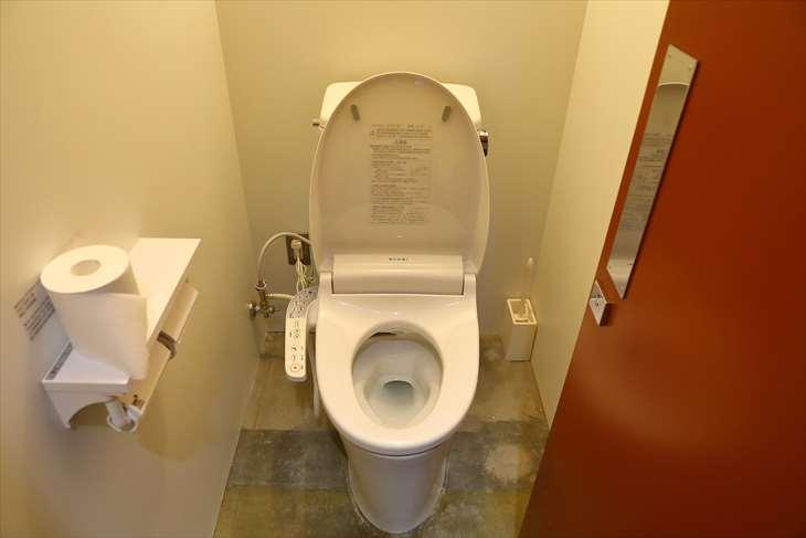 札幌 GOEN ドミトリースペース トイレ